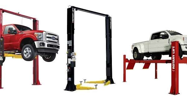 2 Post Car Lift and 4 Post Car Lifts for Auto Shops